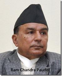 Ram Chandra Paudel addresses during a press meet at party office in Kathmandu, Tuesday. KANTIPUR PHOTO/ KAUSHAL ADHIKARI / POST PHOTO