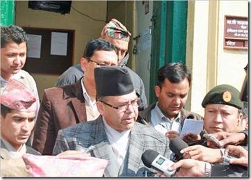 Khanal speaking