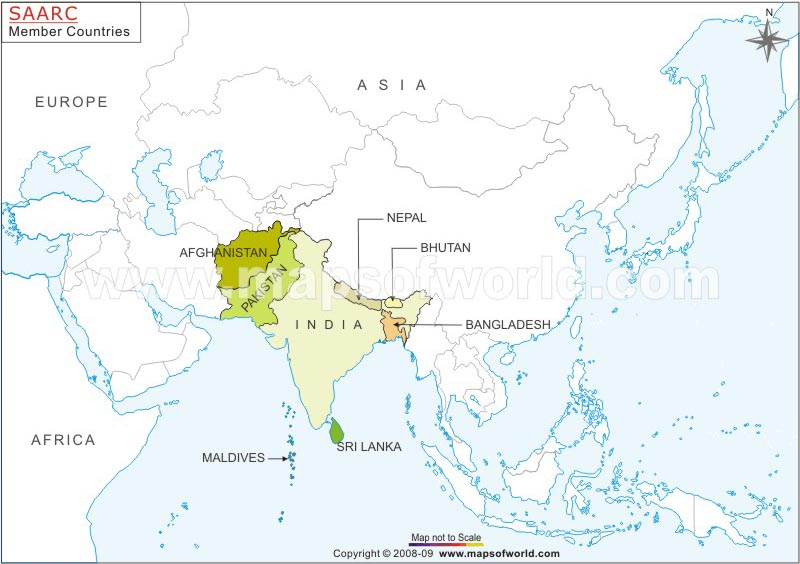 Saarc-Countries